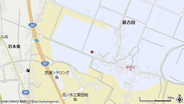 山形県西村山郡河北町新吉田4388周辺の地図