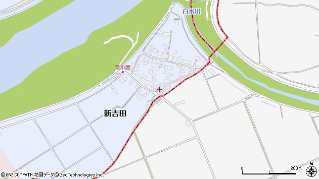 山形県西村山郡河北町新吉田621周辺の地図