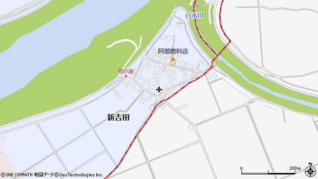 山形県西村山郡河北町新吉田618周辺の地図