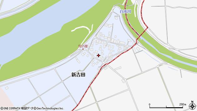 山形県西村山郡河北町新吉田617周辺の地図