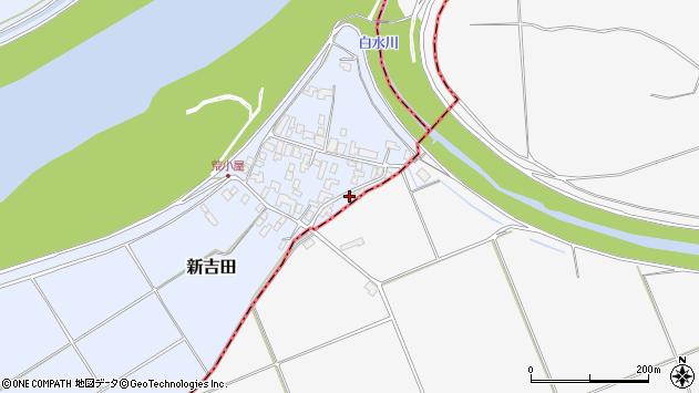 山形県西村山郡河北町新吉田623周辺の地図