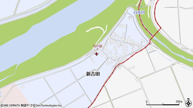 山形県西村山郡河北町新吉田1572周辺の地図