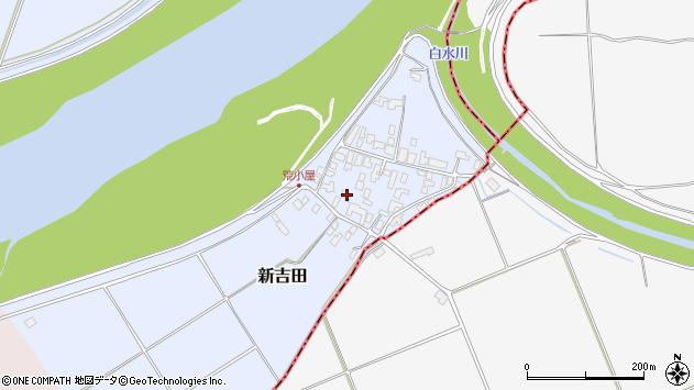 山形県西村山郡河北町新吉田613周辺の地図