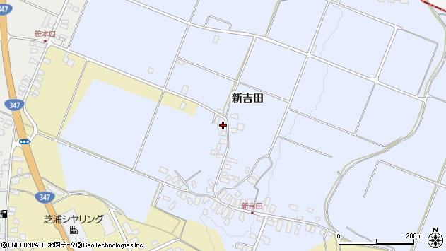 山形県西村山郡河北町新吉田70周辺の地図