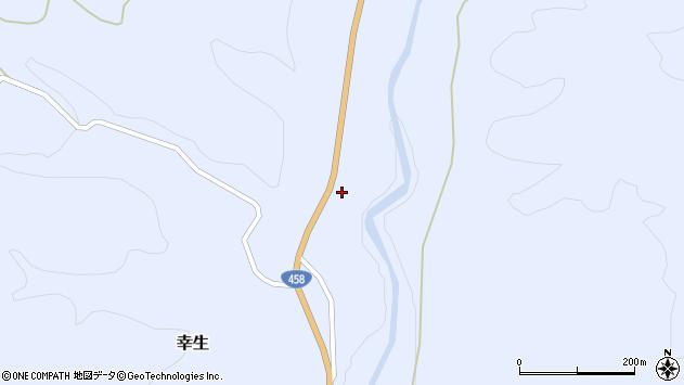 山形県寒河江市幸生562周辺の地図
