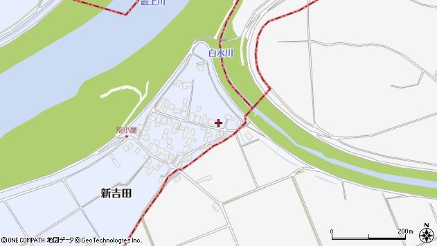 山形県西村山郡河北町新吉田970周辺の地図
