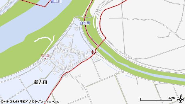 山形県西村山郡河北町新吉田972周辺の地図