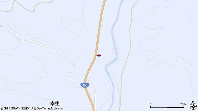山形県寒河江市幸生567周辺の地図
