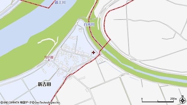 山形県西村山郡河北町新吉田974周辺の地図