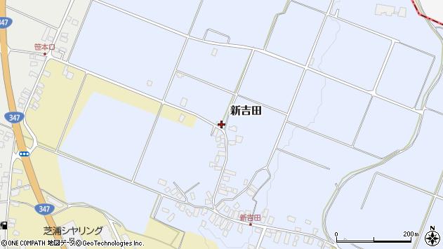 山形県西村山郡河北町新吉田954周辺の地図