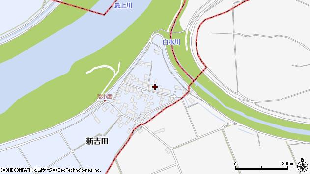 山形県西村山郡河北町新吉田964周辺の地図