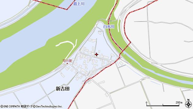 山形県西村山郡河北町新吉田961周辺の地図