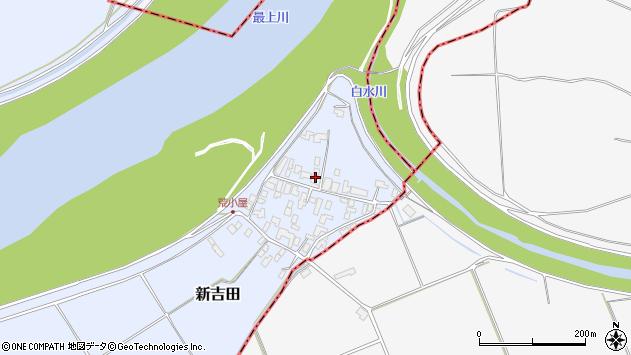 山形県西村山郡河北町新吉田960周辺の地図