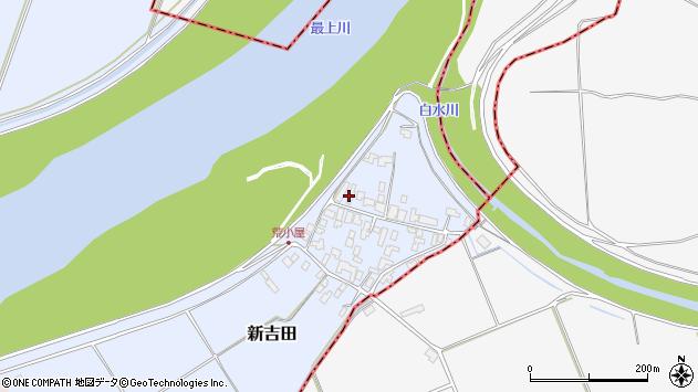 山形県西村山郡河北町新吉田951周辺の地図