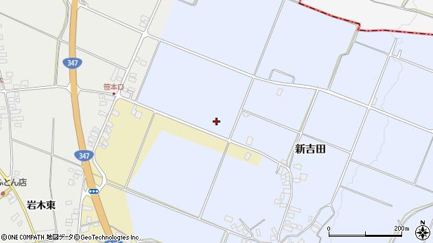 山形県西村山郡河北町新吉田1938周辺の地図