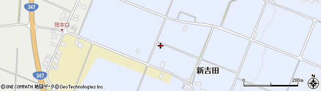 山形県西村山郡河北町新吉田2502周辺の地図