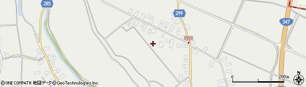 山形県西村山郡河北町岩木岩枝周辺の地図
