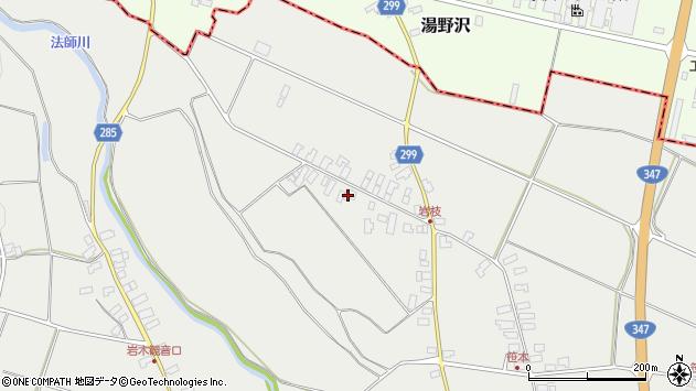 山形県西村山郡河北町岩木1092周辺の地図