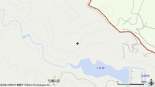 山形県西村山郡河北町岩木川東周辺の地図