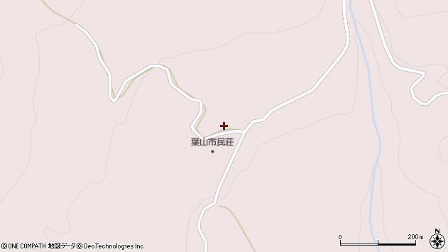 山形県寒河江市白岩2400周辺の地図