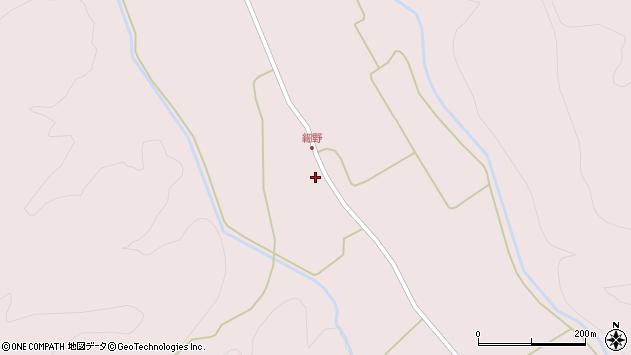 山形県尾花沢市細野528周辺の地図