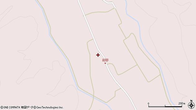 山形県尾花沢市細野543周辺の地図