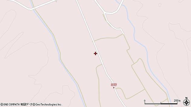 山形県尾花沢市細野575周辺の地図