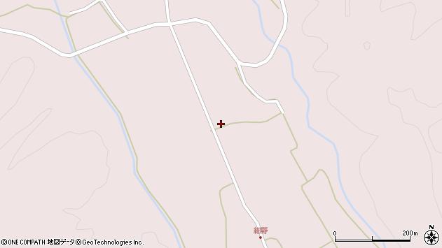 山形県尾花沢市細野589周辺の地図
