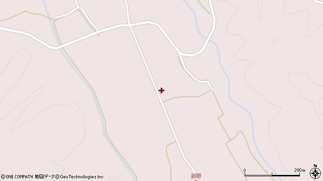 山形県尾花沢市細野600周辺の地図