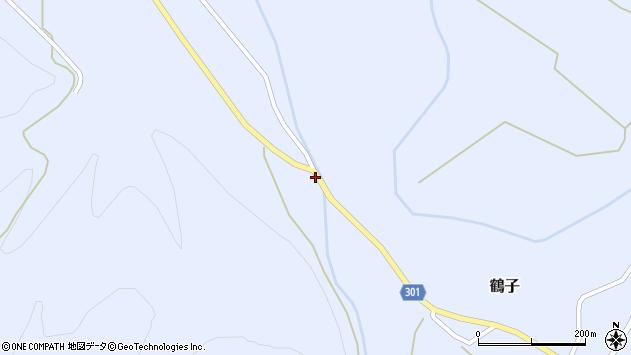 山形県尾花沢市鶴子779周辺の地図