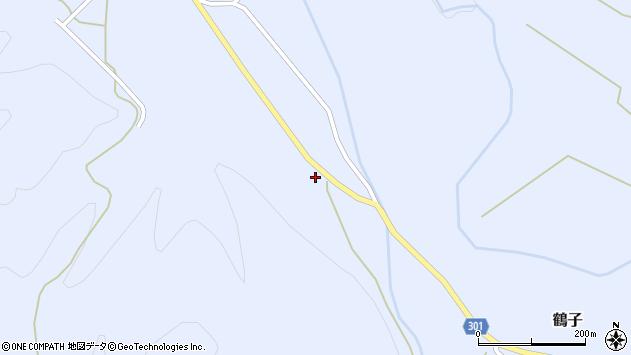 山形県尾花沢市鶴子1126周辺の地図