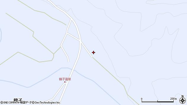 山形県尾花沢市鶴子989周辺の地図