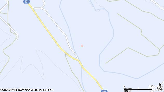 山形県尾花沢市鶴子759周辺の地図
