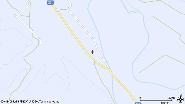 山形県尾花沢市鶴子710周辺の地図