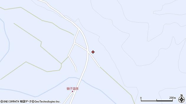 山形県尾花沢市鶴子1001周辺の地図