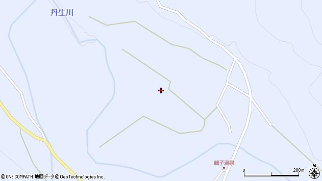 山形県尾花沢市鶴子1350周辺の地図