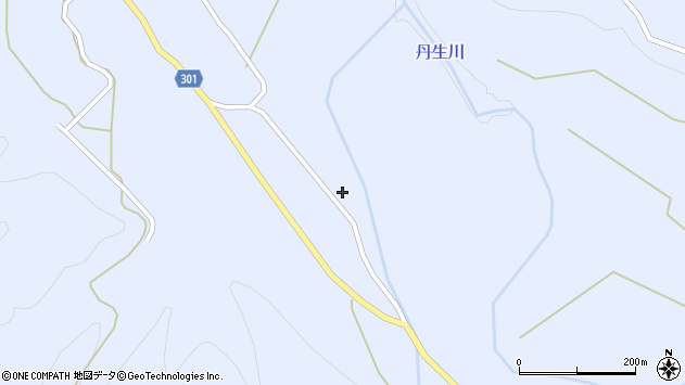 山形県尾花沢市鶴子714周辺の地図