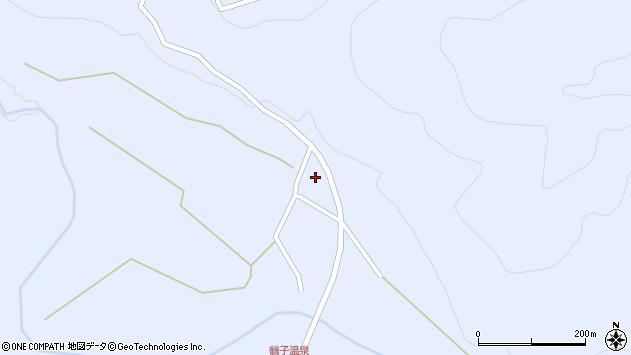 山形県尾花沢市鶴子1021周辺の地図