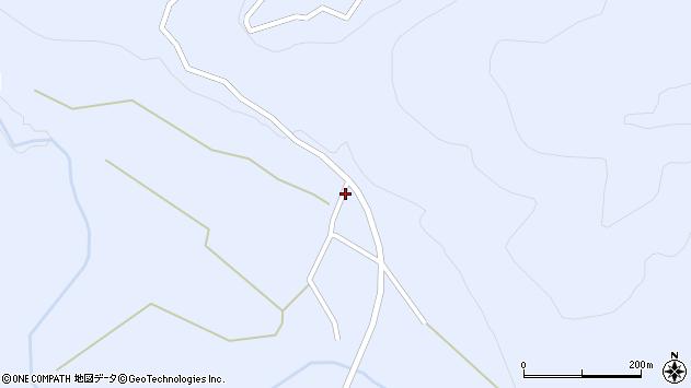 山形県尾花沢市鶴子1018周辺の地図