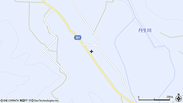 山形県尾花沢市鶴子735周辺の地図