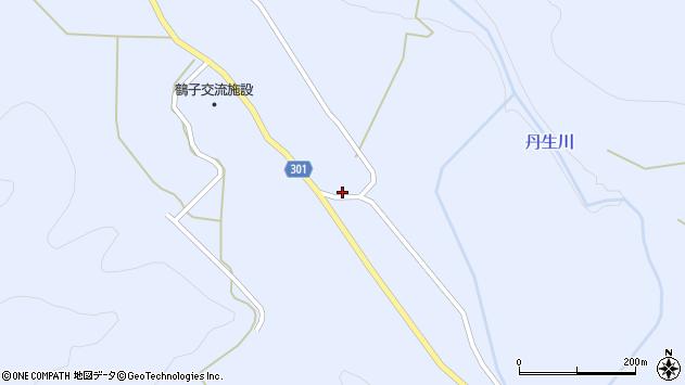 山形県尾花沢市鶴子594周辺の地図