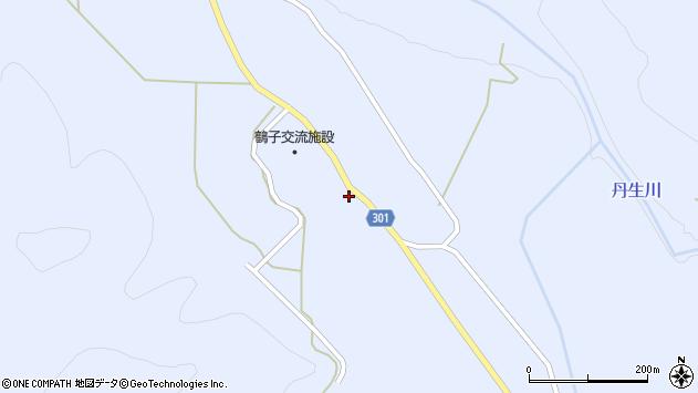 山形県尾花沢市鶴子590周辺の地図