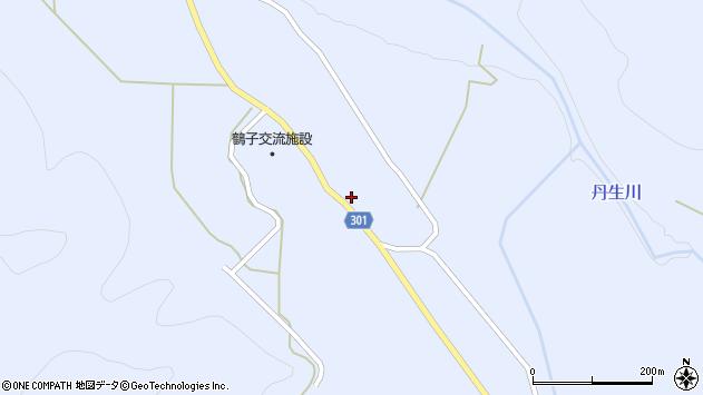 山形県尾花沢市鶴子606周辺の地図