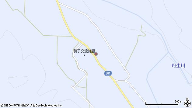 山形県尾花沢市鶴子614周辺の地図