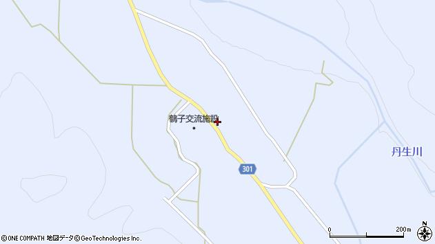 山形県尾花沢市鶴子615周辺の地図
