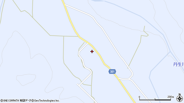 山形県尾花沢市鶴子670周辺の地図