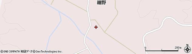 山形県尾花沢市細野255周辺の地図