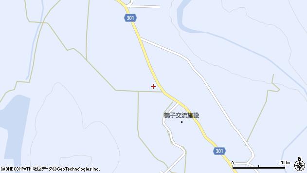 山形県尾花沢市鶴子647周辺の地図