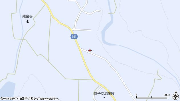 山形県尾花沢市鶴子562周辺の地図