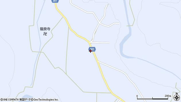 山形県尾花沢市鶴子431周辺の地図